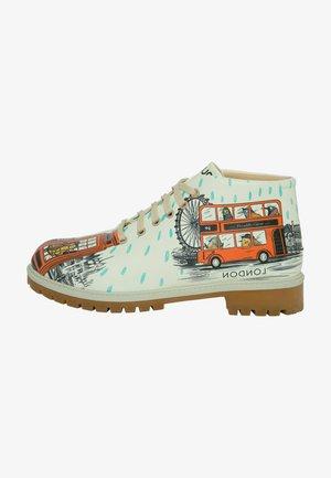 LONDON - Botines con cordones - multicolor