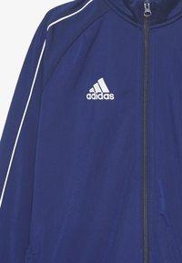 adidas Performance - CORE 18 FOOTBALL TRACKSUIT JACKET - Verryttelytakki - dark blue/white - 2