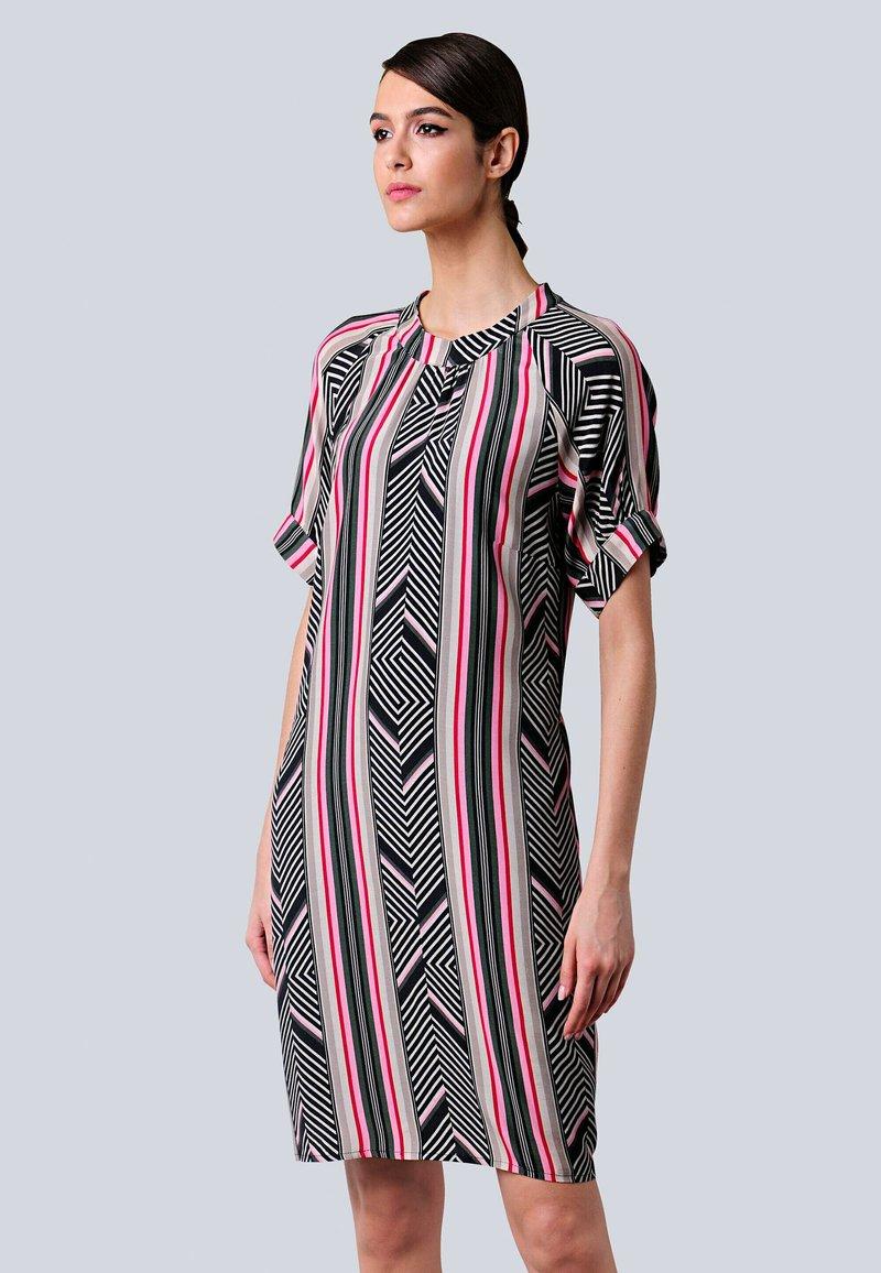 Alba Moda - Day dress - schwarz,pink