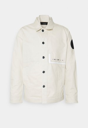 NAVAL OVERSHIRT - Summer jacket - whitebait