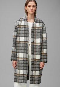 Marc O'Polo DENIM - Classic coat - multi/black - 0