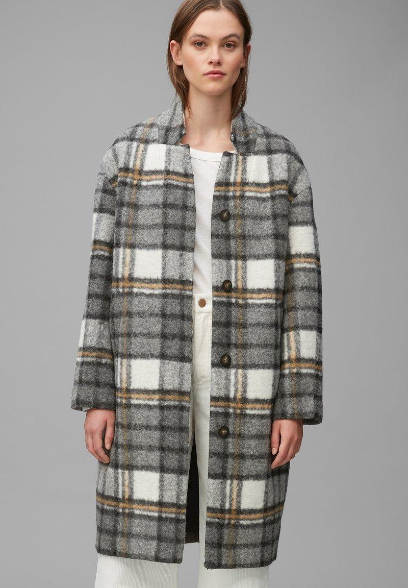 Marc O'Polo DENIM - Classic coat - multi/black
