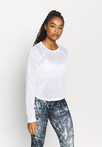 Sweaty Betty - AGILITY WORKOUT - Long sleeved top - white - 0