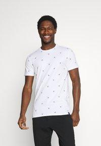 Petrol Industries - T-shirt med print - bright white - 0