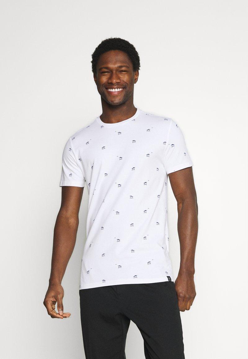 Petrol Industries - T-shirt med print - bright white