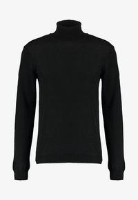 Casual Friday - KONRAD  - Stickad tröja - black - 4