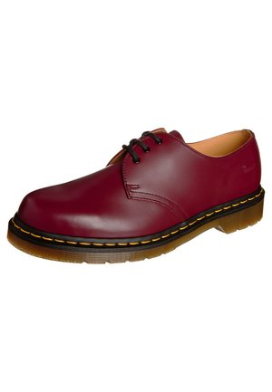 1461- 3 EYE SHOE - Sporty snøresko - cherry red