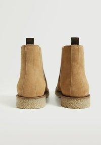 Mango - CREPBTN - Classic ankle boots - écru - 3