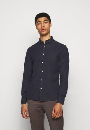 OXFORD SLIM - Shirt - navy