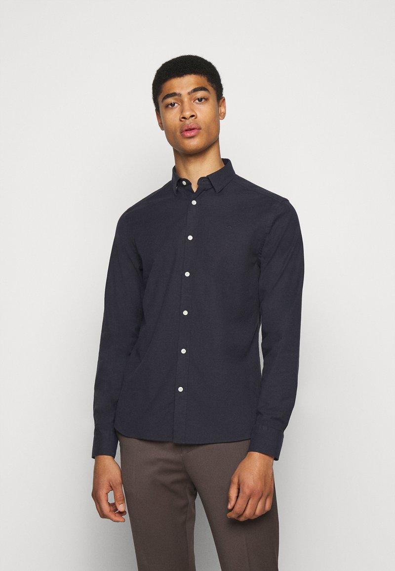 J.LINDEBERG - OXFORD SLIM - Shirt - navy