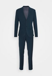 Isaac Dewhirst - PLAIN SUIT - Completo - teal - 8