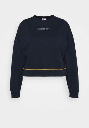 LINEAR LOGO CREW IN - Sweatshirt - vector navy