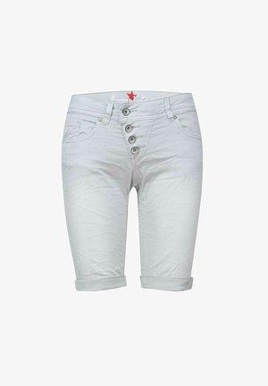 MALIBU - Denim shorts - light grey