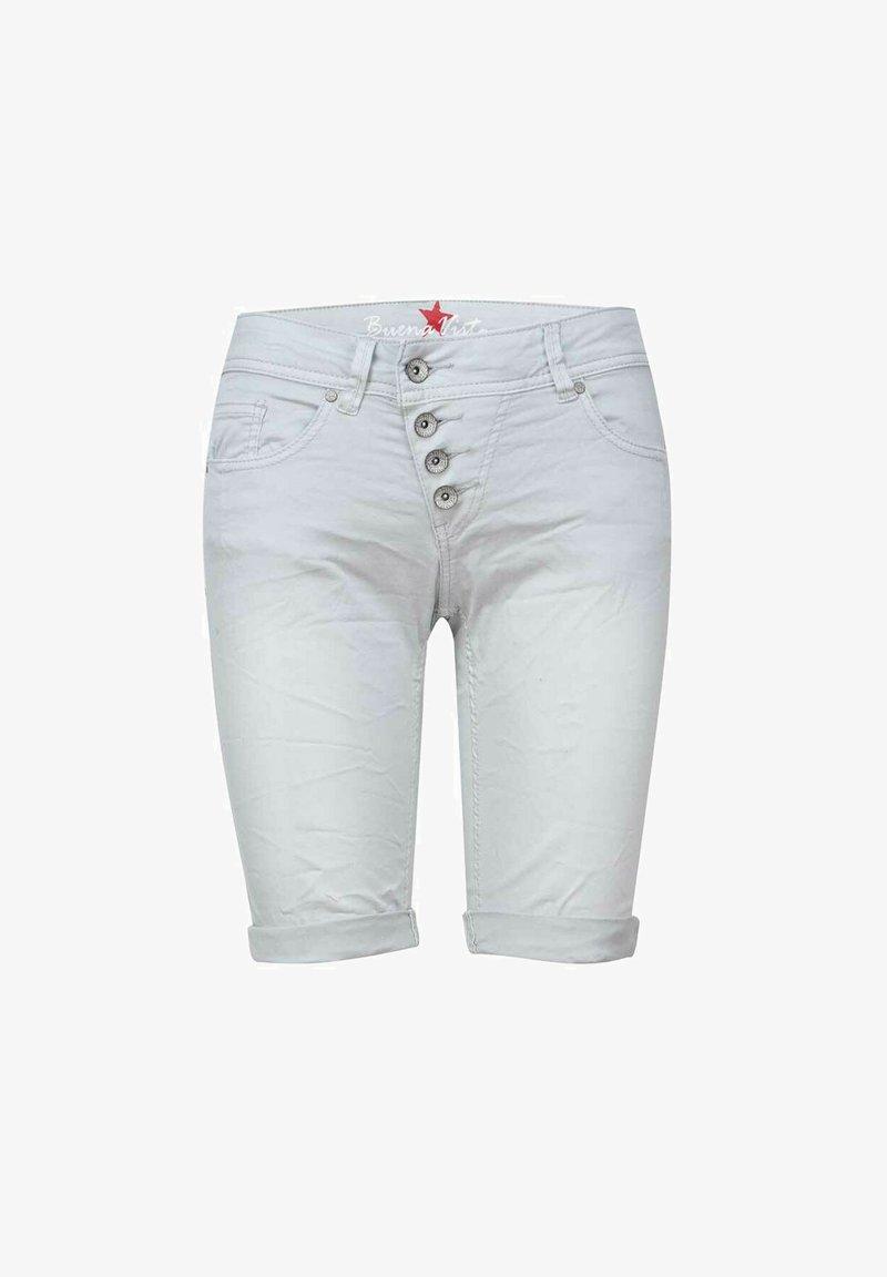 Buena Vista - MALIBU - Denim shorts - light grey