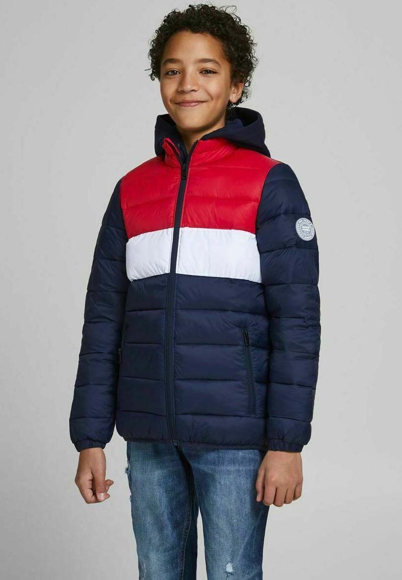 Jack & Jones Junior - Winter jacket - tango red