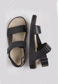 ECCO - CORKSPHERE  - Sandals - black - 4