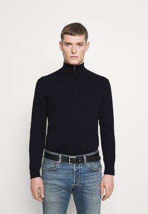 ZIP - Stickad tröja - black