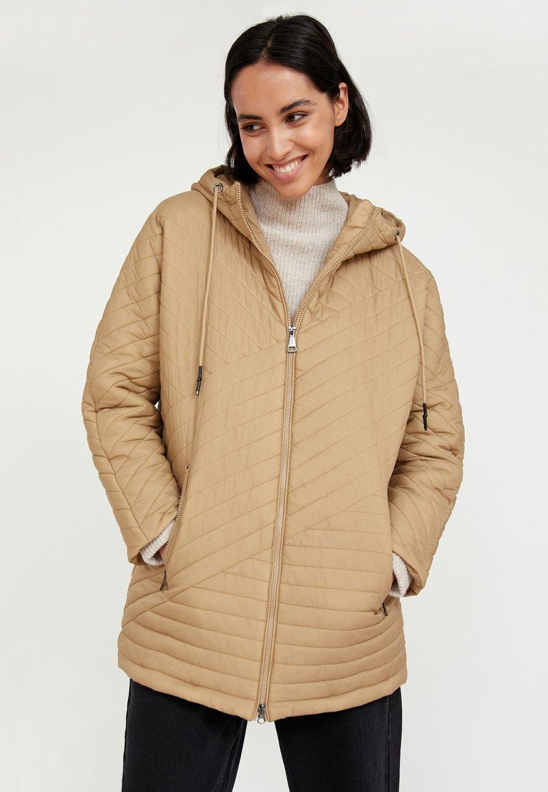 Finn Flare - Down jacket - beige