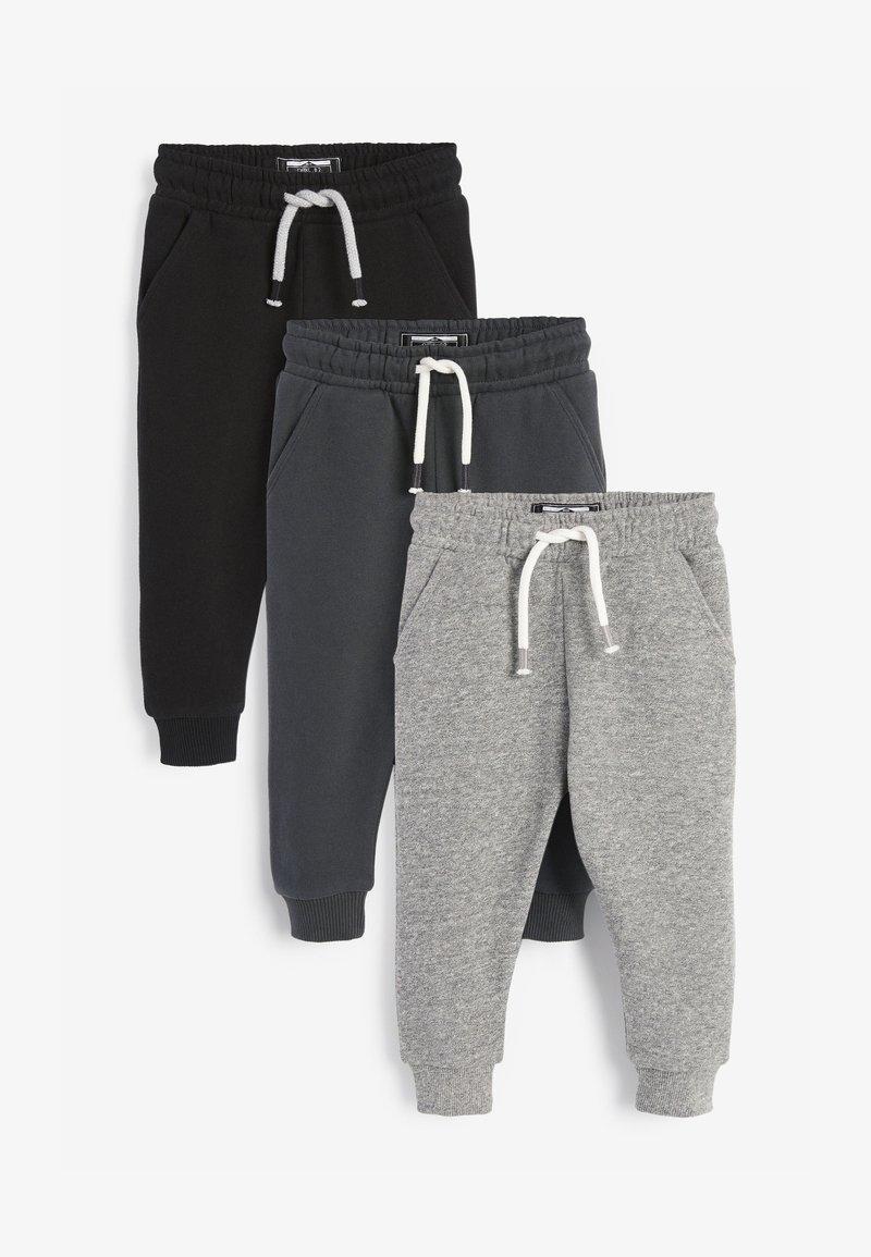 Next - 3 PACK  - Teplákové kalhoty - black