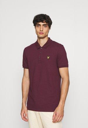 PLAIN  - Polo - burgundy