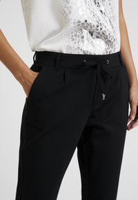 s.Oliver - SMART - Trousers - black - 5