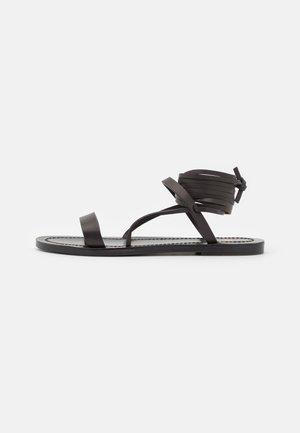 DESERT - Sandales - black