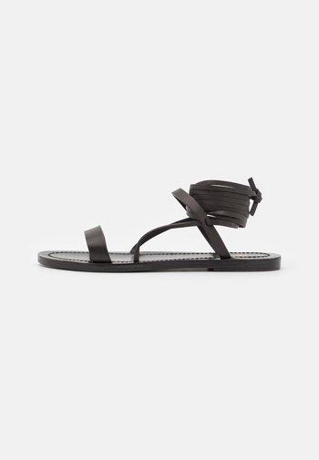 DESERT - Sandals - black
