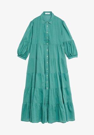LOVER-A - Vestido camisero - smaragdgrün