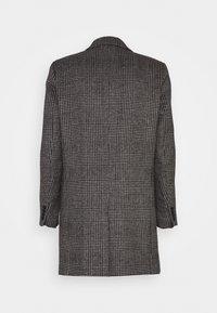 Scotch & Soda - CLASSIC - Classic coat - black/white - 1
