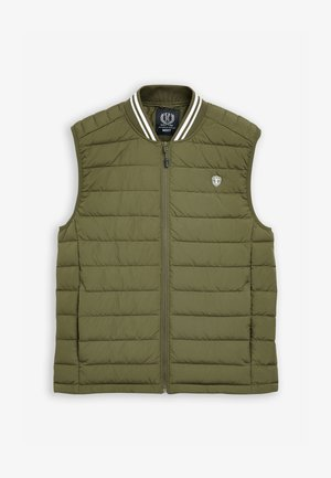 SHOWER RESISTANT TIPPED - Waistcoat - green