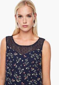 s.Oliver - Day dress - dark blue aop mini flowers - 3