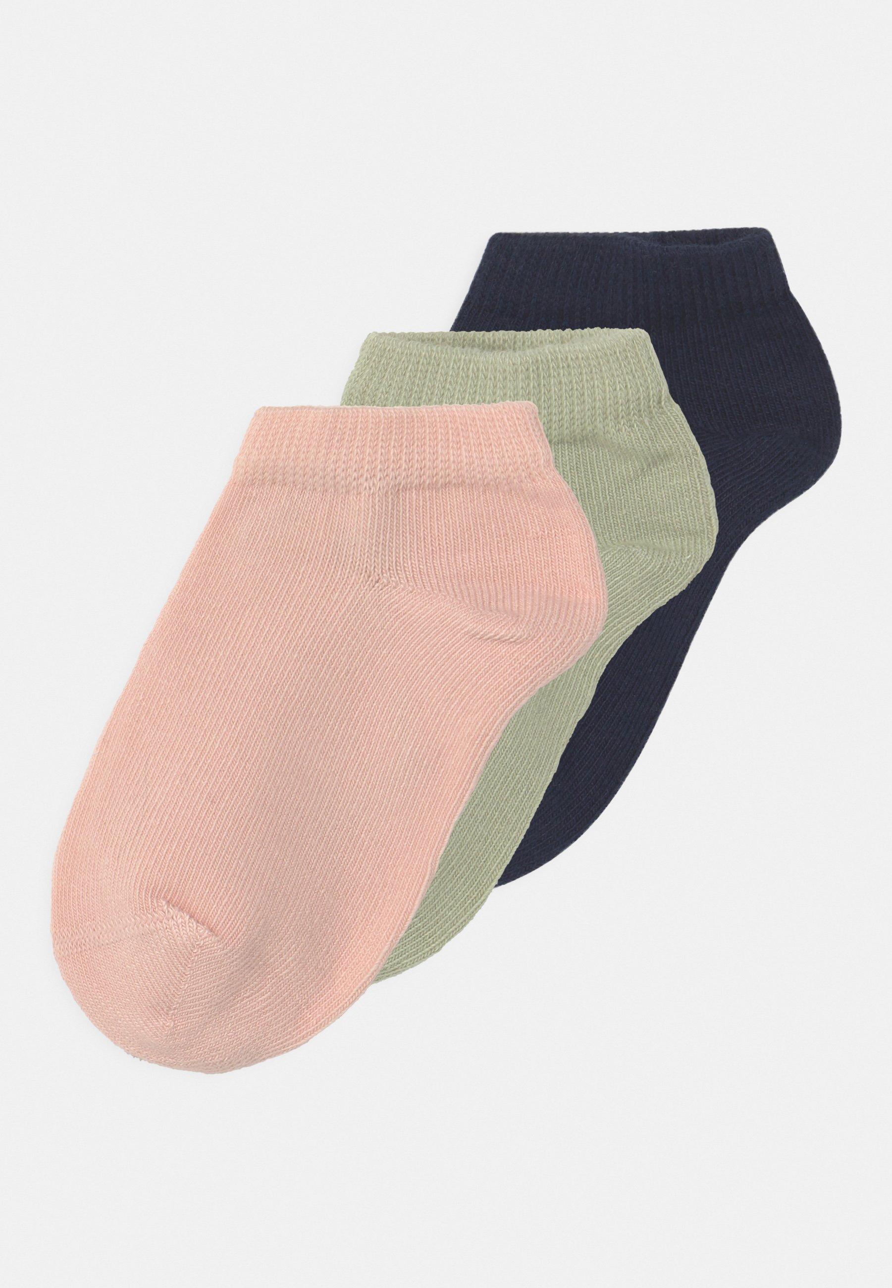 Kids NMFVILMA FOOTIE 3 PACK - Socks