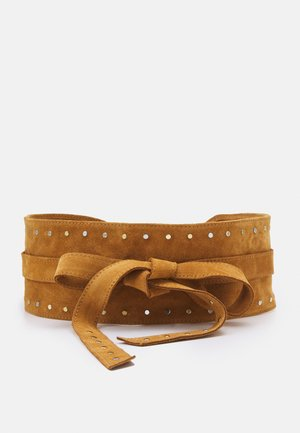 AURORE - Waist belt - caramel