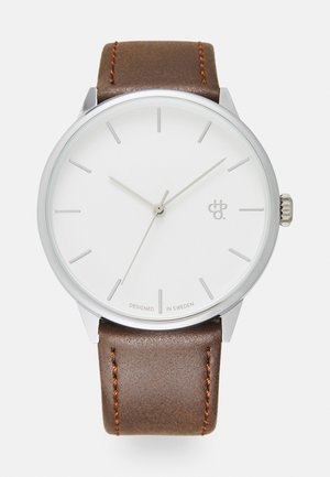 KHORSHID UNISEX - Watch - silver-coloured/brown