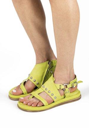 T-bar sandals - acido