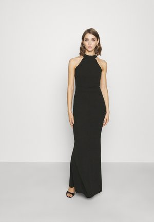 KAYLA HALTER MAXI DRESS - Suknia balowa - black