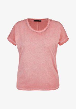 Basic T-shirt - pink meliert