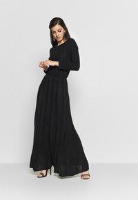 YAS - YASCHELSEA 3/4 ANKLE DRESS  - Maxi šaty - black - 0