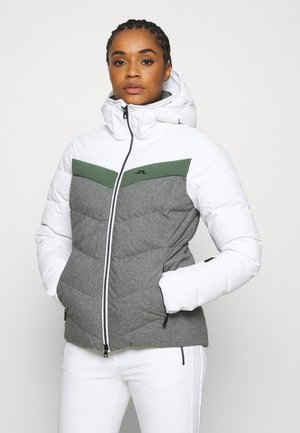 RUSSEL JACKET - Gewatteerde jas - thyme green