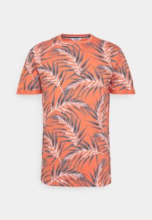 ONSIASON SLIM TEE - T-shirt con stampa - camellia