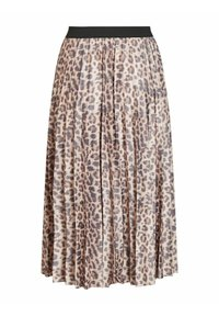 Vila - Pleated skirt - motld beige - 5