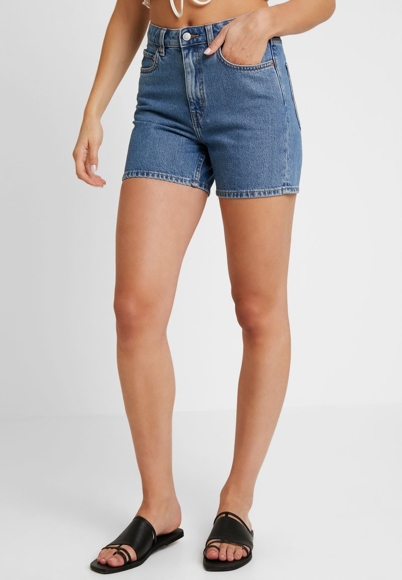 Weekday - EYA - Shorts di jeans - arizona blue