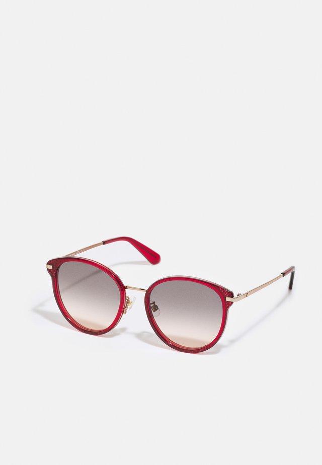 JONELLE - Sluneční brýle - red