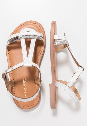 BADA - Sandals - blanc/argent