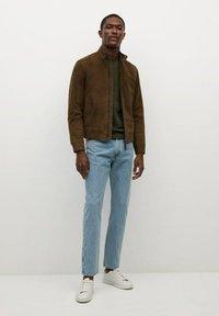Mango - Long sleeved top - kaki - 1