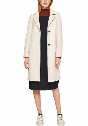 Classic coat - beige melange