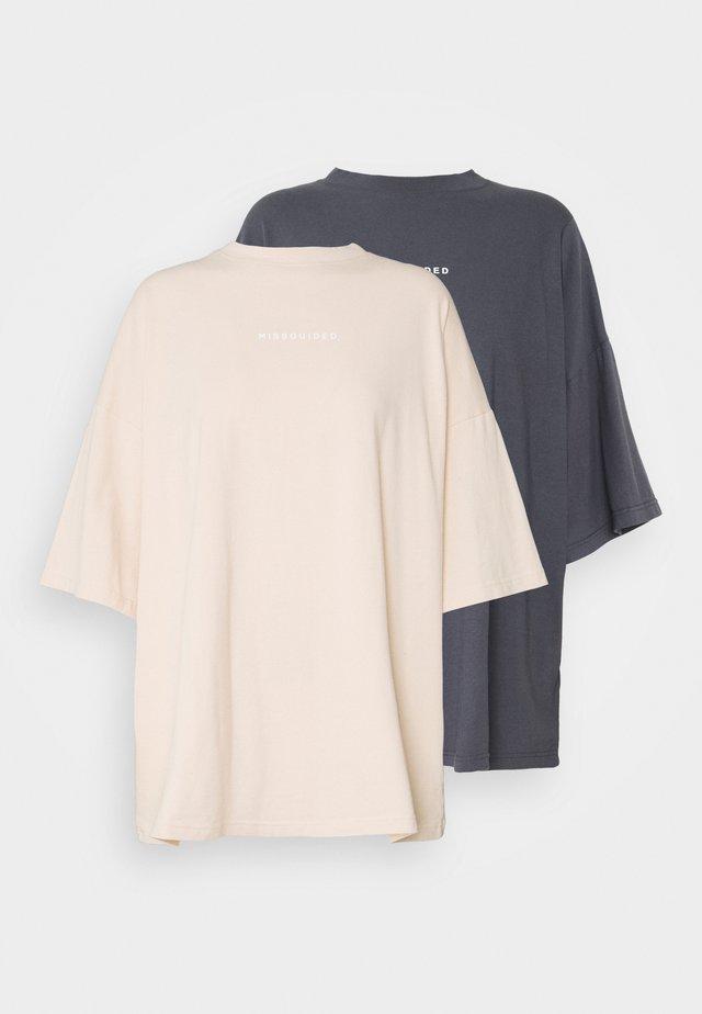 WASHED 2 PACK - T-shirt imprimé - multi