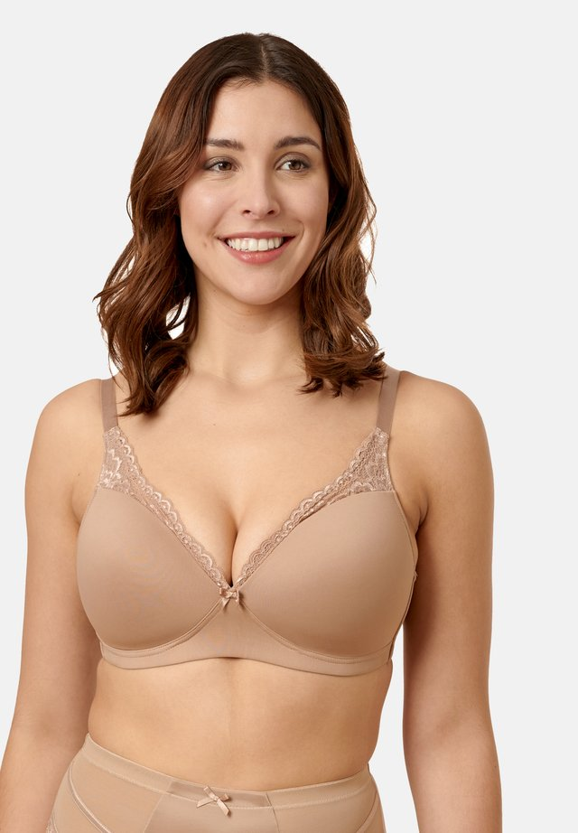 Underwired bra - skin