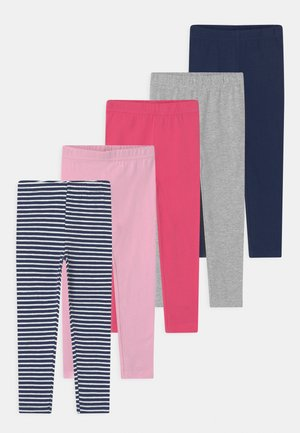 GIRLS KID 5 PACK - Leggings - multi-coloured