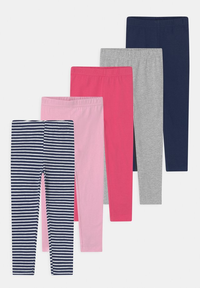 GIRLS KID 5 PACK - Leggings - Trousers - multi-coloured